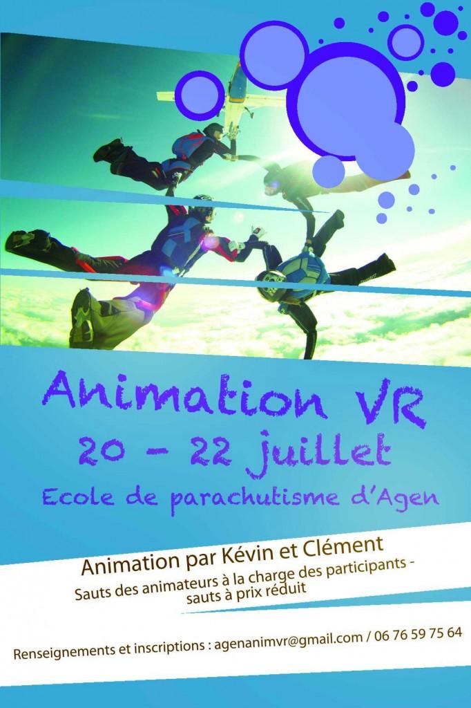 Animation Vol Relatif - 20 au 22 Juillet 2012